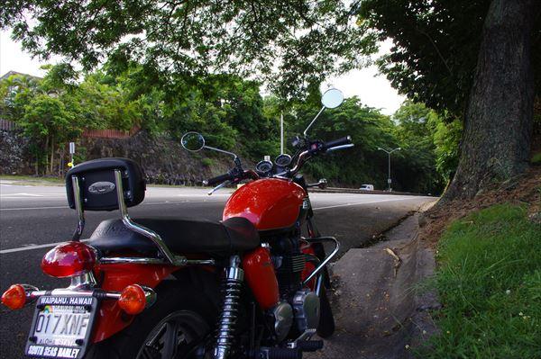 ハワイ バイク