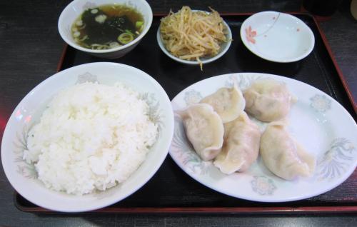 水餃子定食 ¥460