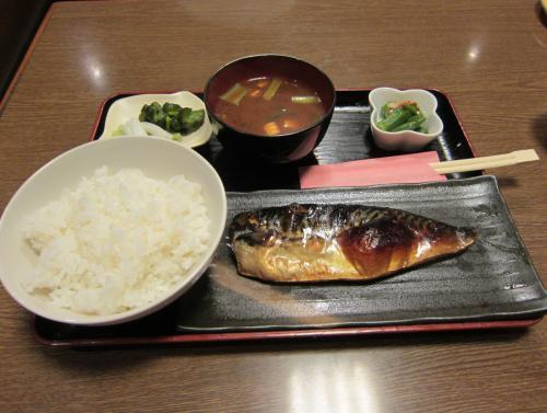 塩サバ定食 ¥700