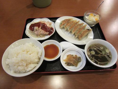 焼き餃子定食 ¥780[税別]