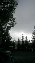 大雨の予兆