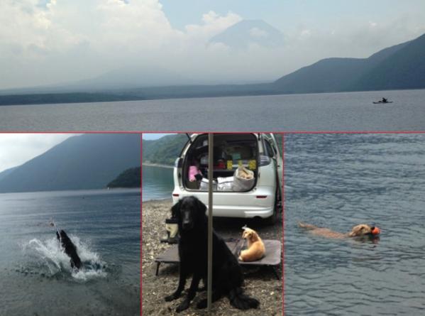 2013年7月27日 本栖湖1
