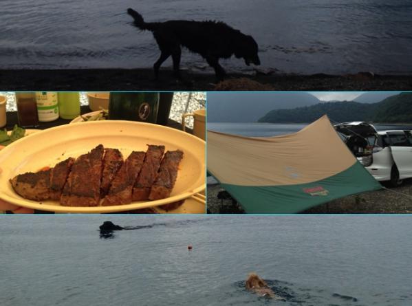 2013年7月27日 本栖湖2