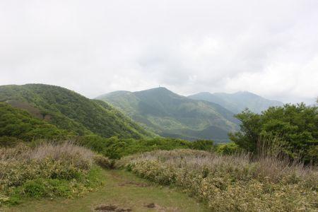 丸岳と金時山