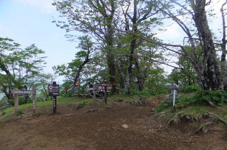 檜洞丸山頂