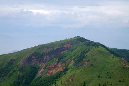 根子岳と高妻山