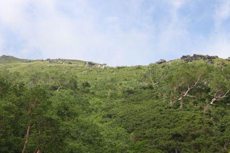 大滝口斜面