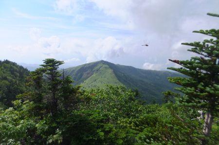 四阿山から根子岳
