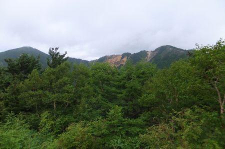 2山の眺め