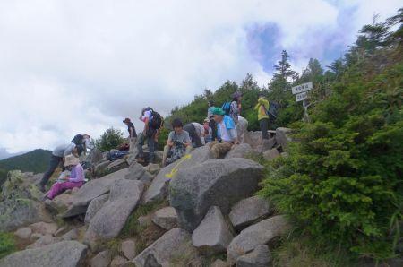 水ノ塔山山頂