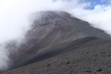 宝永山から富士山