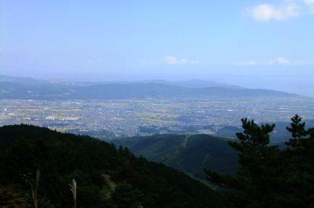 小田原と相模湾