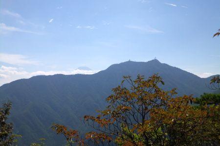 三つ峠と富士山