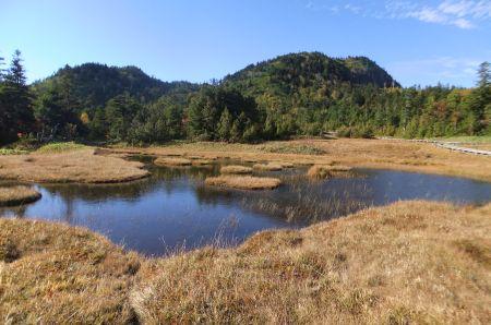 湿原と志賀山