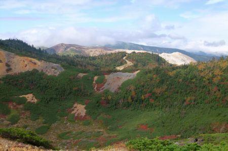 白根山と横手山