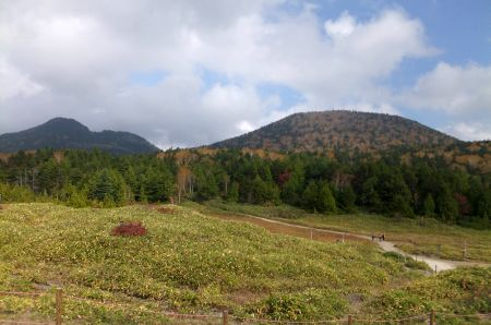 志賀山と鉢山