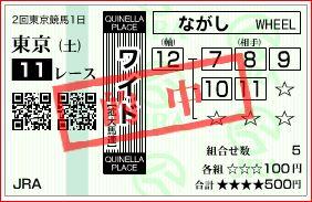 東京11Rワイド