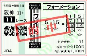 阪神11Rワイド