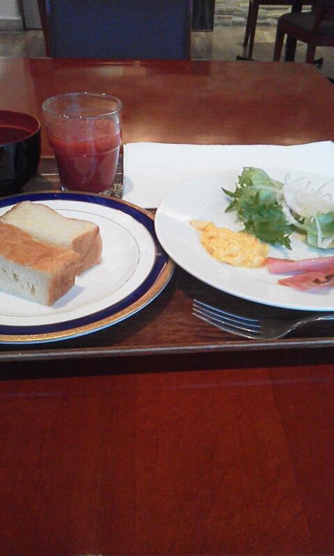 ステーションホテル朝食
