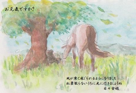 絵便り 馬