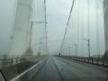 雨の瀬戸大橋