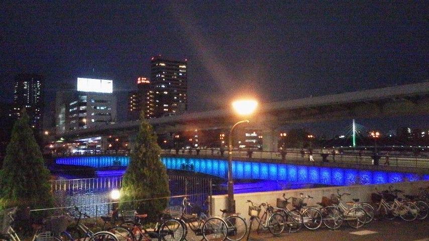 都会に夜景