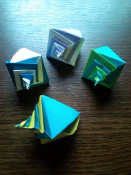 Origami Snail Shell