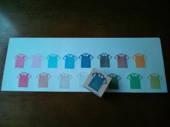 カラーバリエーション シャツ