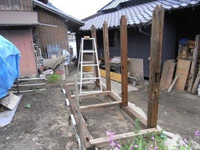薪棚製作1