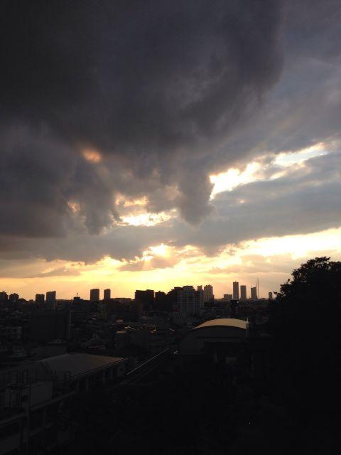 或る日の夕暮れ03b