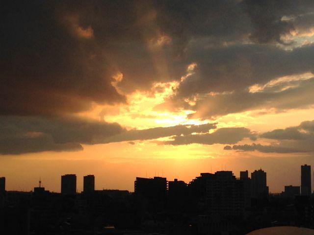 或る日の夕暮れ03a