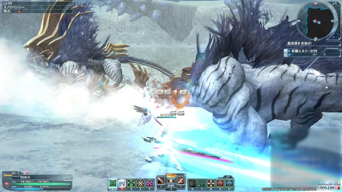 魔法戦士vs雪夫婦