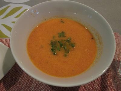 トマトのクリーミースープ