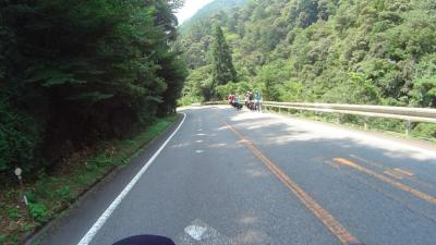 R151で遭遇したサイクリスト