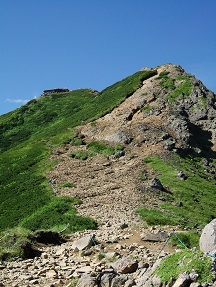 天望赤岳7.31