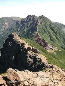 赤岳下り7,31