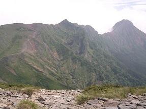硫黄から赤岳横岳