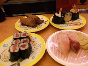 かっぱ寿司2013.8.10