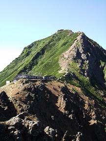 地蔵から赤岳8.28