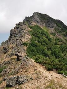 地蔵から横岳方面8.28