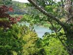 二俣城天守台から見た天竜川