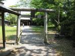 二俣城北の曲輪跡