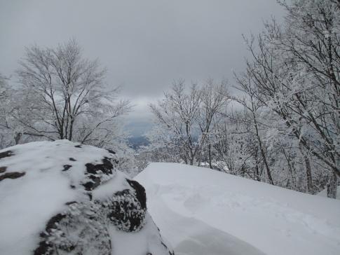 臥龍山スノーハイキング 014