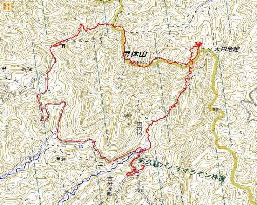 奥久慈男体山コース