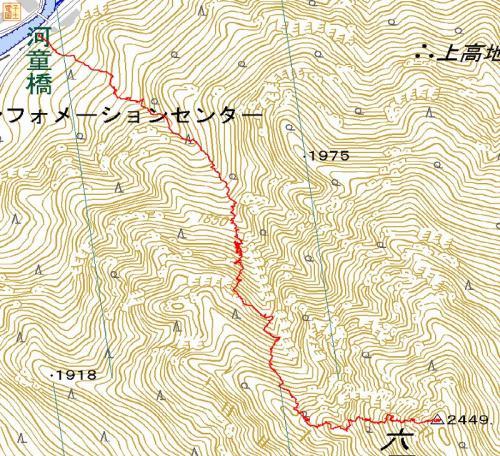 六百山踏跡