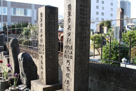 乃木将軍の墓