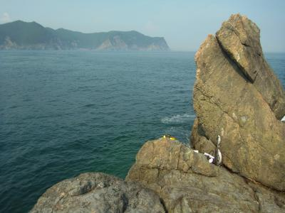 米水津 沖の観音