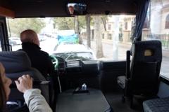 エディルネ バス フロントガラス