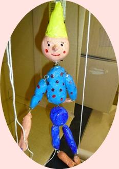 ピノキオ(紙ねんど)
