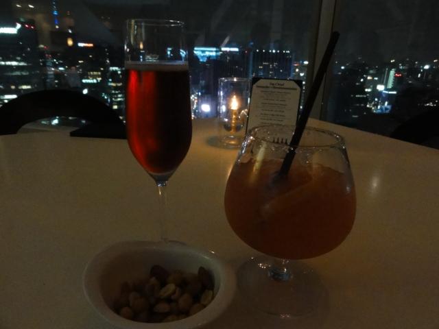 2014年9月4日 鍾路タワー トップクラウド 飲み物